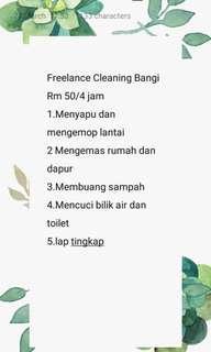 Freelance Cleaning Bangi