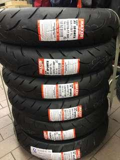 Maxxis F1 for Y15 , RS150 , NVX