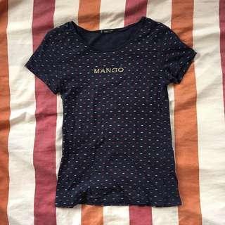 Mango Basic Candy Pattern T-Shirt