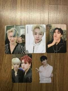 🚚 WTT Monsta X We Are Here Photocards