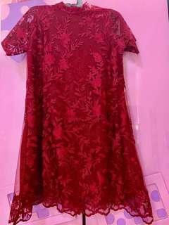 Dress Brokat - Dress Brukat