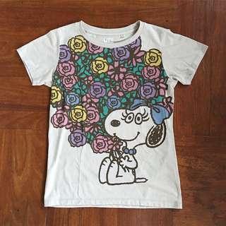 Uniqlo Snoopy Tee