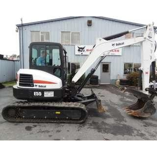 2013 BOBCAT E55 Excavators