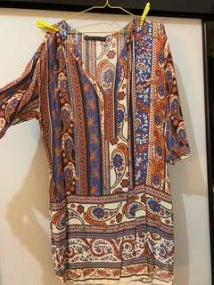 Beach dress (fits 10-14)