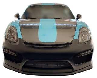 Porsche Cayman GT4 Front Bumper + DRL (PP Taiwan)