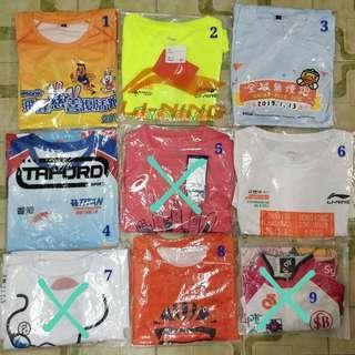 跑步T-shirt