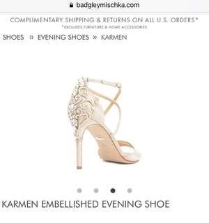 ad16e2a3e53 Badgley Mischka Wedding heels