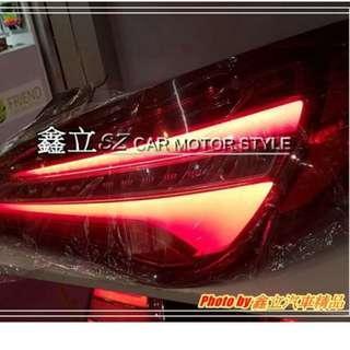 ※ 鑫立汽車精品 ※ W117 CLA 13 14 15 16年 前期 高階 改 後期 LCI LED 光柱 紅白 尾燈