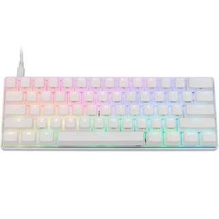 🚚 Vortex Poker 3 RGB 60% Mechanical Keyboard (White / Red Switch)