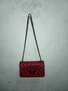 Sling Bag Jelly Red