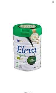 🆙♥️ SALE ❤️🆙 Eleva organic 2號  全新 行貨 雅培  丹麥 Abbott   有機 綠色 丹麥製造 歐盟及丹麥有機認  有4罐  Expiry: 2020