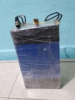 I sell 48v 20ah full charge 55.0v cut off 45.0v