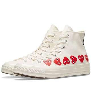 Convers Chuck Taylor x Comme Des Garcon Play