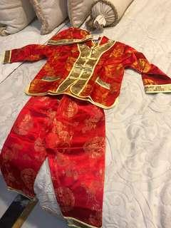 Chinese complete set for boy 4-7 thn murah!