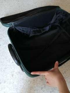 Preloved Green Luggage