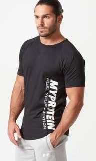 Myprotein Dri Fit Grey Limited Tee Size S