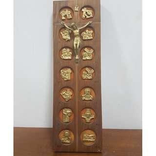 Wall hanging display- The Stations of the Cross