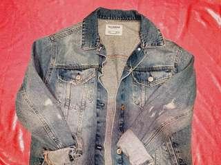 p&b oversized fit denim jacket