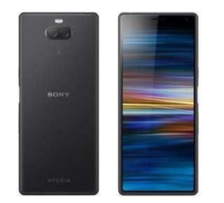 🚚 全新 SONY Xperia 10 【4G/64G】I4193 黑色全新未拆 中華電信
