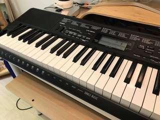 Casio 電子琴CTK-3500 連 pedal +琴袋+琴架 (