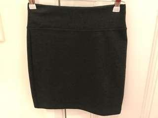 As new - Review grey size 6 skirt