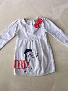 Gymboree 12-18mos Baby Girl Winter dress