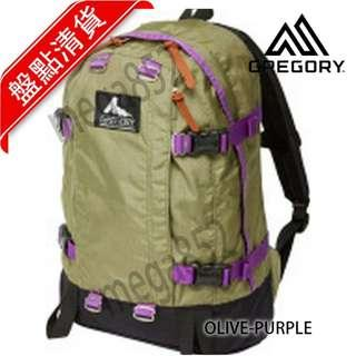 🎊GREGORY ALL DAY 22L背囊🎊  OLIVE-PURPLE