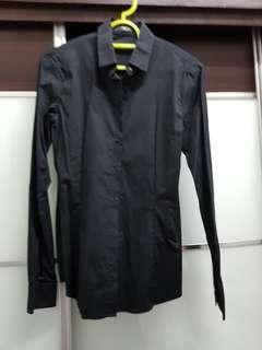 G2000 Black Buttoned Shirt