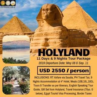 11D9N Holyland