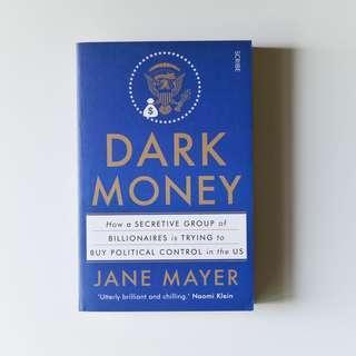 🚚 Dark Money by Jane Meyer (book rental)