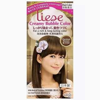 Liese Creamy Bubble Colour Chestnut Brown