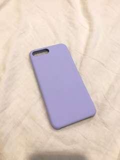 Apple iPhone 7 Plus 手機殼 ins熱門款 紫 淡紫 紫羅蘭 芋紫 霧紫