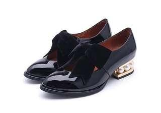 🚚 jeffrey campbell 蝴蝶結低跟鞋(原價5680)