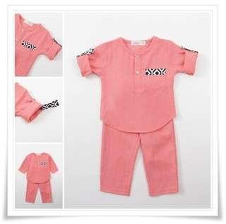 🚚 PO: 6m - 7yr Kids/Baby Baju Melayu