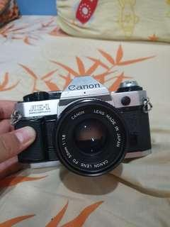 Canon AE-1 Program (film camera)
