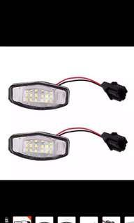Honda civic fd fc plate number light
