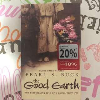 Book - The Good Earth (by Pearl S. Buck)