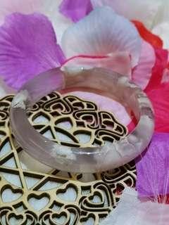 稀有 瑪瑙 粉色手鐲 Bracelet