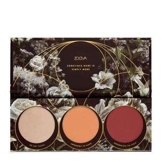 🚚 Zoeva opulence blush palette