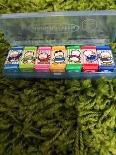 Pekkle Ap鴨日本絕版1992年靚靚擦膠1盒(罕有)