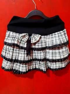 Mini Skirt Tartan High Quality