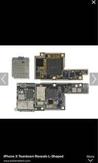 🚚 WTB Used IPhone X Motherboard