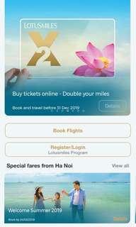 🚚 越南航空台北-峴港機票折價卷