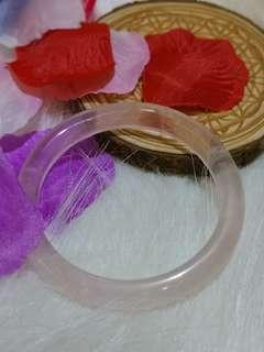 天然粉晶手鐲 Bracelet