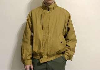 🚚 (罕見)burberrys芥末黃哈靈頓夾克made in japan
