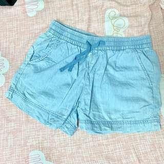 🚚 lativ淺色牛仔短褲S號#半價衣服市集