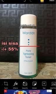 Wardah Pore Tightening Toner (Acne toner) isi -/+ 55%