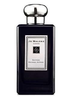 Jo Malone 香水 藏紅花 黑瓶 saffron cologne intense