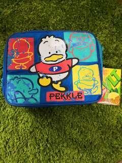 Pekkle Ap鴨絕版1995年保暖餐袋(未使用,但自甩油)