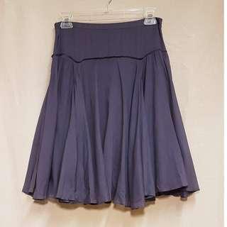 Mastina elegant purple skirt 紫色優雅飄逸半截裙